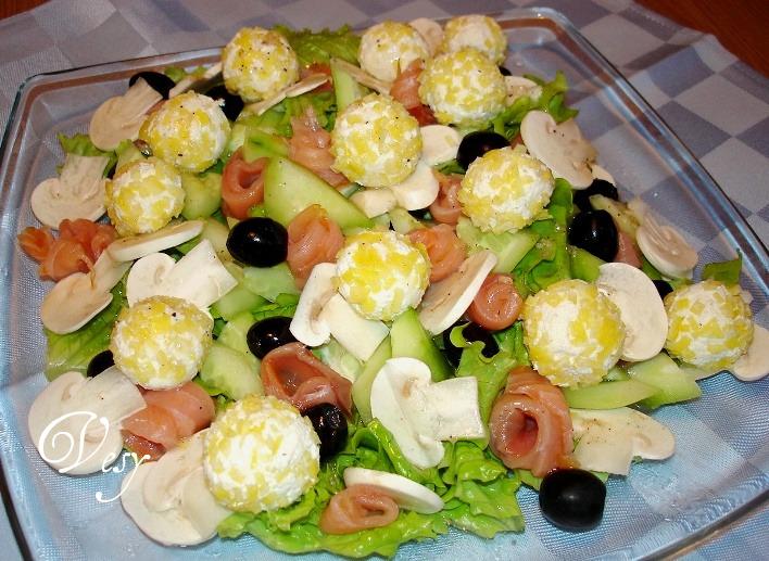 Рецепты вкусных и изысканных салатов с фото