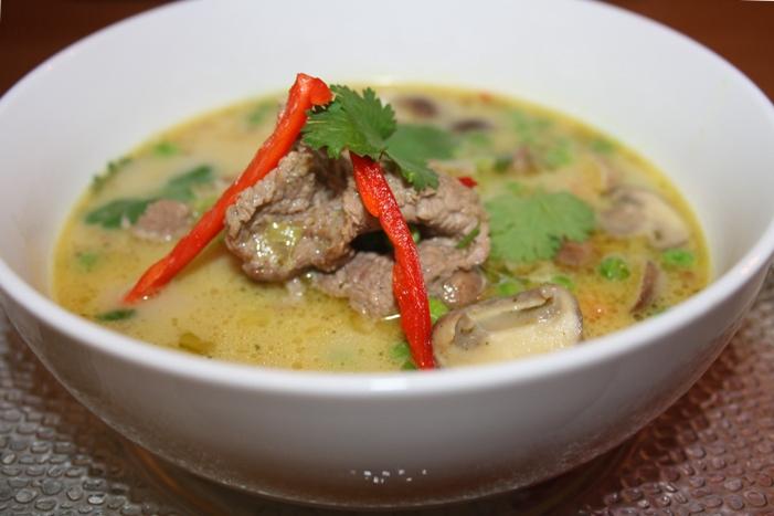 Грибной суп с свининой рецепт