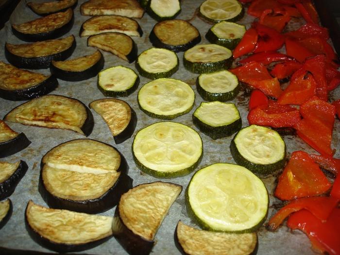 Salat s halumi-1