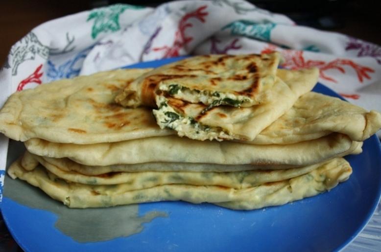 чуду с зеленью и творогом в духовке рецепт с фото